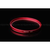Filtro Lente Uv 52mm P/ Nikon D3100 D5100 D3000 D5000 18-55