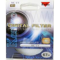 Filtro 67mm Uv Serie (mc) - Filtro Ótico - Kenko