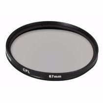 Filtro Polarizador Circular 67mm Greika Fpc 67 P Canon Nikon