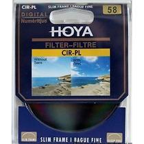 Filtro Cpl Polarizador Hoya 58mm Original P/ Canon Nikon
