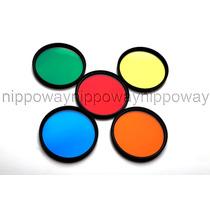 Kit Filtro De Lente Colorido 67mm Nikon D5100 D7000 Canon