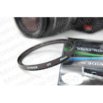 Lente Filtro Uv 58mm Canon Sony Fuji Kodak Nikon Pentax Etc
