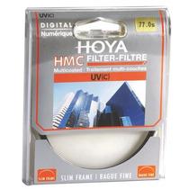 Filtro Uv Hmc Hoya 77mm Original Para Lente Canon Nikon Sony