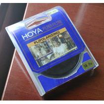 Filtro Polarizador Hoya 58mm P/ M 4/3 Powershot P510