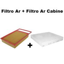 Filtro Ar + Filtro Ar Cabine Punto 1.8 E.torq Após 2011