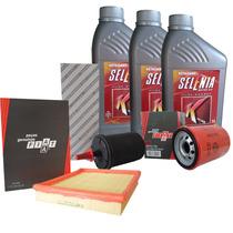 Óleo Selenia K Pure Energy 5w30 E Filtros Fiat Uno Mille Way
