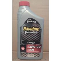 Óleo Havoline 5w20 Sn Sintético Ford M2c948-b Focus Eco 2.0*