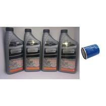 Kit Troca De Óleo E Filtro Honda Sae 10w-30 Original Mineral
