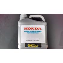 Kit Honda Líquido Arrefecimento+fluído Freio+óleo Direção