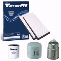 Kit Filtro Combustivel, Cabine, 2 Oleo Frontier 08/.. Tecfil