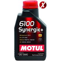Óleo Motul 6100 Synergie 10w40 Semi-sintético 1 Litro