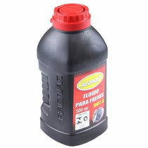 Fluido De Freio Dot 3 P/ Frenagem Veiculo Automotivo - 500ml