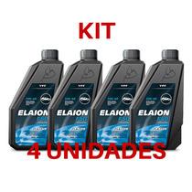 Kit 4 Oleo Motor Elaion Sintetico Sn 5w40 Gas/gnv/etanol 1l