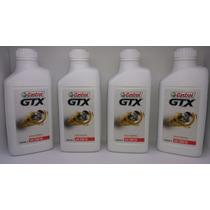 Óleo Castrol Gtx Antiborra 20w50 Kit 4 L Motores Vw Ap / Gm
