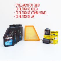 Kit Troca De Óleo Gol / Voyage / Saveiro 1.6 - Elaion 5w40