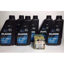 Kit Troca De Oleo E Filtro Jetta 2.5 V5 Elaion 5w40