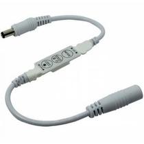 Mini Controle Dimmer 12v Strobo Flash Fita Led E Lâmpadas