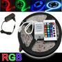Fita Led Rgb 5m Super Led & Controle Remoto & Fonte
