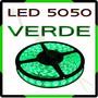 Fita Super Led 5050 Rolo 5m 300 Leds + Fonte Grátis - Verde