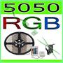Fita Rgb Led 5050 Rolo 5m 300 Leds + Controle + Fonte- R G B