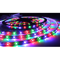 Fita Led Rgb Smd 3528 16 Cores Waterproof 5m Controle Remoto