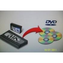 Converto Vhs - Fitas16mm Para Dvd