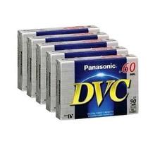 Panasonic Kit Fita Mini Dv P/ Filmadora Ay-dvm-60ej 5 Und