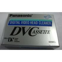 Fita De Limpeza Mini Dv Panasonic Mini Dv Dvc Filmadoras