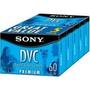 Fita Mini Dv Sony Premium 60 Dvc - 05 Unidades ( Ver Frete)