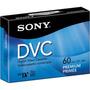 Fita Mini Dv Sony Premium 60 Dvc - 05 Unidades