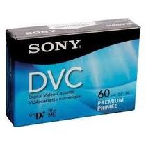 Fita Mini Dv Sony Premium 60 Dvc-1 Unidades