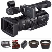 Câmera Sony Hvr-z1 Case Bateria 23 Fitas Dvcam Zero 200h