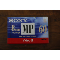 Fita Mini Vhs Video 8mm 60 Min