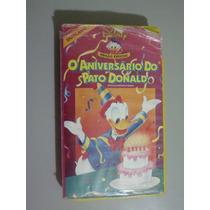 Fita Vhs O Aniversário Do Pato Donald - Edição Especial
