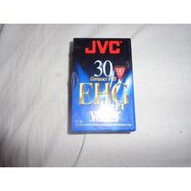 Fita Compacta Virgem Para Vhs Jvc Ehg 30 Compact Lacrada