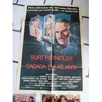 Caçada Em Atlanta - Vhs - Burt Reynolds - Frete Grátis
