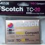 Scotch Video Cassete Vhs-c Compact Tc-20 44 M (0203)