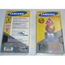 Fita De Video Cassete Samsun Jvc Sv T120 S Vhs Super Vhs