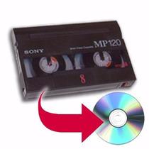 Conversão De 8mm Hi8 Digital8 Para Dvd Ou Seu Pendrive