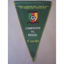 Flâmula Futebol Federação Camarões Oficial Mundial 2014