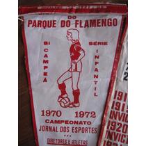 Flâmula Campeonato Parque Do Flamengo 1972 Futebol Antigo
