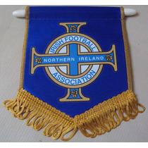 Flâmula Futebol Federação Irlanda Do Norte Azul