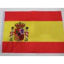 Bandeira Espanha 40x30cm Festas Decoração Fantasia Jogos
