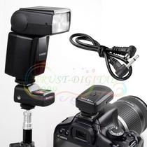 Rádio Flash Disparador De Flash - Qualidade E Robustez Canon