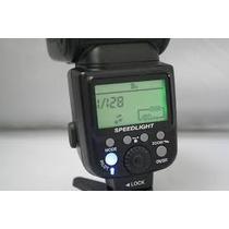 Flash Profissional Triopo Tr-960ii Speedlight Canon E Nikon