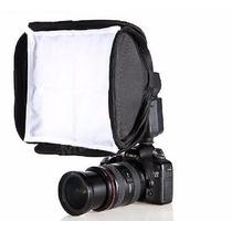 Softbox Speedlight Dobrável 23cm Flash Portátil Bolsa