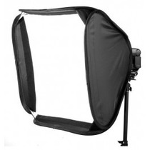 Softbox Speedlight Dobrável 60cm Flash Godox Portátil Bolsa