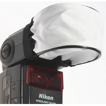 Difusor Soft Universal Flash Nikon Canon Sb910 600ex Sb700