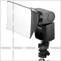 Difusor P/ Flash Mini Softbox Hazzy Light Universal