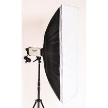 Softbox Strip Box Para Flash De Estudio Greika 40x120cm F300